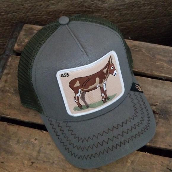 987a870c5a7c3 Goorin Brothers Donkey Trucker Hat